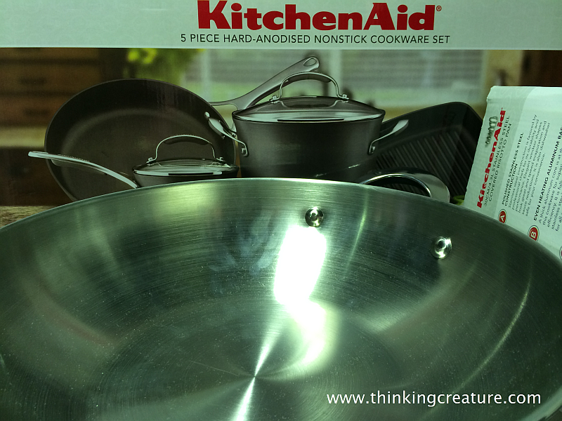 anodised cookware