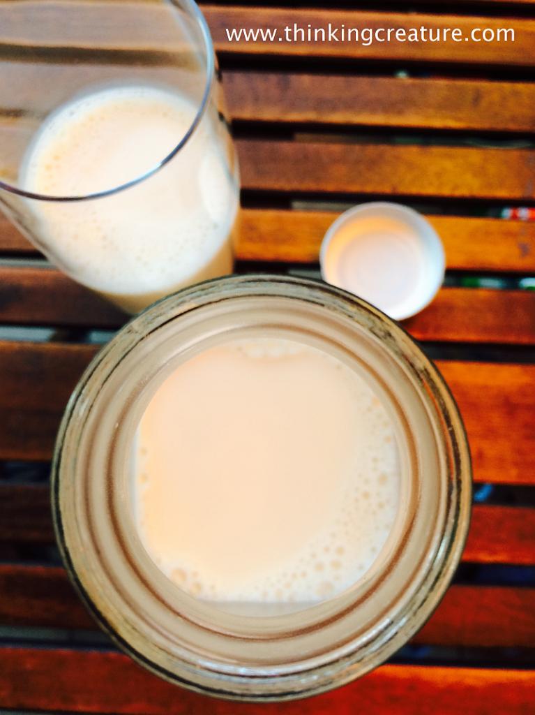 миндальное молоко 4